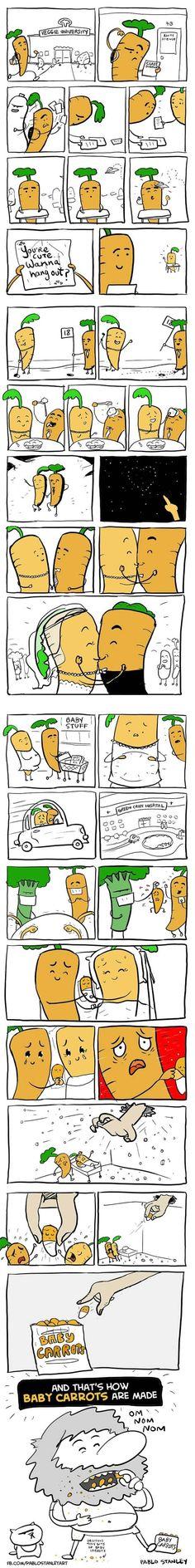 Carrots r good