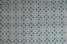 Vintage Wallpaper - Blue Geometric Wallpaper Design
