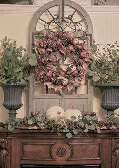 SAVED BY WENDY SIMMONS INSPIRED BY ROMANTIC FALL DECOR THERE'S ALOT OF MIXTURE FARMHOUSE TOUCHES COUNTRY RUSTIC VINTAGE FARMHOUSE STYLE FALL FARMHOUSE DECOR
