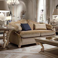 Designer Art Deco Style 2 Seater Sofa