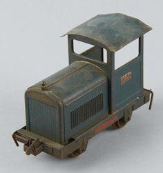 Lot # : 2006 - Pressed Steel Buddy L Mining Train Engine