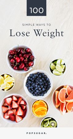Losing weight doesn't just happen overnight, and there's not one thing that does the trick. It's a combination of a million different healthy choices you make every day. These 100 tips will keep you on the journey to your weight-loss goal.