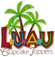 Party Planning Center: Free Printable Hawaiian Luau Cupcake Toppers