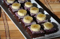 Prajitura de post cu fructe de padure si banane