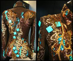 Silver Lining Custom Show Apparel, Love it... but It needs to be purple and black :)