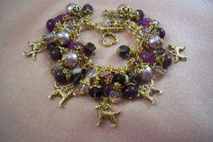 GOLDEN RETRIEVER  sp6    Themed  Bracelet  by HOBBYHORSELADY, $54.90