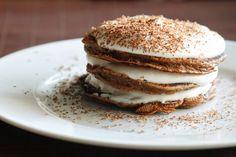 I Pancakes: Tiramisu Pancake Recipe Tiramisu Pancakes, Tiramisu Cake, Pancakes And Waffles, Crepes, Santa Pancakes, Swedish Pancakes, Vegan Tiramisu, Cheese Pancakes, Potato Pancakes