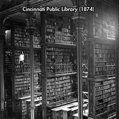 An Incredible Library... life before the internet...everything on paper