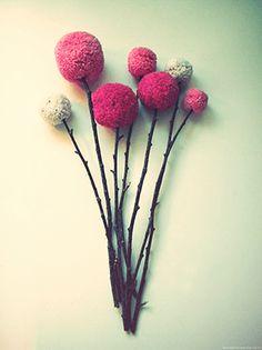 DIY: Flores de estambre | Oh Mundo Cruel!