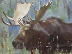 Moose by ~JoeyBee60 on deviantART