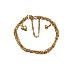 (18JD) 22ct Heart and Ball Bracelet n\A heart and ball bracelet. 22ct gold. Weight 19.60 grams. Length 16cm. Fine Jewels… / MAD on Collections - Browse and find over 10,000 categories of collectables from around the world - antiques, stamps, coins, memorabilia, art, bottles, jewellery, furniture, medals, toys and more at madoncollections.com. Free to view - Free to Register - Visit today. #Jewelry #Bangles/Bracelets #MADonCollections #MADonC Bangle Bracelets, Bottles, Mad, Stamps, Coins, Auction, Collections, Jewels, Jewellery