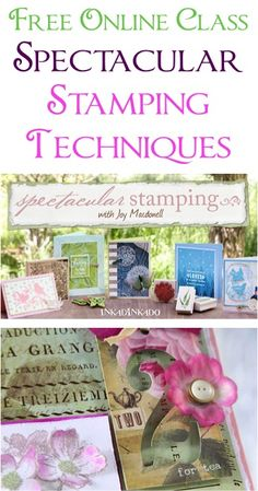 FREE Spectacular Stamping Techniques Online Class!
