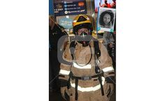 Me at the Fire Fighters Stair Climb For Leukemia and Blood Cancer.