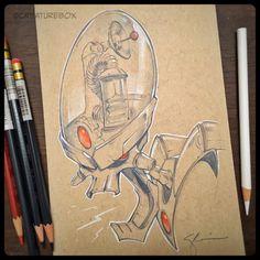 CreatureBox • A little Dr. Nefarious for an amazing fan. Some...