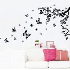 Wall Paper Sticker Art Adesivi Murali Mural Decals Art Decor