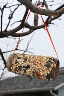 Use crisco for bird feeders.  Peanut butter is bad for some birds;(