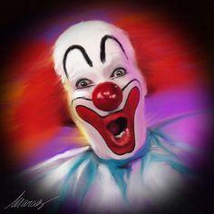 Bozo the Clown...frightening