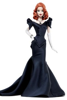 Hope Diamond Barbie....I love everything about her but mostly her glamorous hair and the juicy red lips