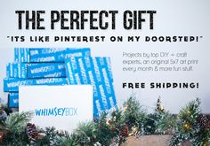 Whimseybox - A Monthly DIY Craft Subscription Box and Community