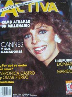 Revista Activa. Veronica Castro En Portada .tv.novelas - U$S 9.00