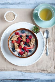Never underestimate the importance of a good healthy breakfast!