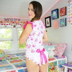 """littleforbig: """"RepostBy @amber.mouse: """"This is one of my favorite onesies from @littleforbig  Official Site: www.littleforbig.com #adultbaby #diaperlover #abdl #abdlgirls #diapergirl #ageplay #ageplayer #ablife #abdlclothing #diaperfetish..."""