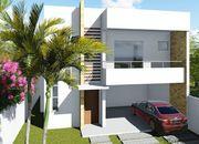 Modelo de casa com duplex com varanda gourmet