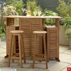 Outdoor Living Space Ideas For Summer 2020 At Home Most Of Us Are Likely To Be Spending Quite A Bit Of Summer 2020 At Home As The Corona Virus Continues To Interrupt Our Lives In Many Ways. Here Are 5 Ideas To Make The Most Of Your Outdoor Living Space This Summer Surrounded By Friends, Family And The Unpredictable UK Weather ;-) #outdoorliving #outdoorlivingspaces #outdoorlivingspaceideas #outdoorroom #garden #gardendesignideas #gardenoasis #BBQ #Summer2020 #homebar #gardenpub Garden Furniture, Outdoor Furniture Sets, Garden Coffee Table, Garden Bar, Interior Design Tools, Outdoor Tables, Home Interior, Space Saving, Decorating Your Home