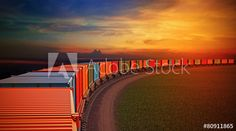 illustration of top view roofs of wagons of freight train Top View, Transport Logistics, Transportation, Adobe, Country Roads, Illustration, Trains, 3d, Pictures