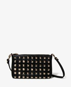 Forever 21 Pyramid Stud Crossbody Bag    want this!!