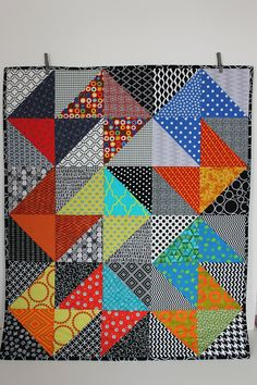 Your place to buy and sell all things handmade Colchas Quilting, Quilting Projects, Quilting Designs, Quilting Ideas, Sewing Projects, Baby Quilt Patterns, Quilt Baby, Easy Quilts, Small Quilts