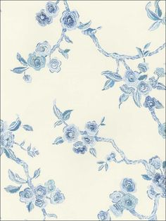 wallpaperstogo.com WTG-079992 Stroheim and Romann Designer Specialty Wallpaper  Like the design but it looks yellow
