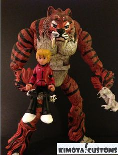 toycutter: Calvin and Hobbes custom action figures