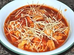 Minestrone Soup With Tortellini (Pressure Cooker)