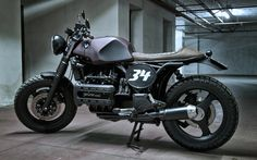 BMW K100 by Morecyclos