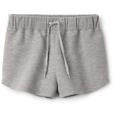 Wave Shorts ❤ liked on Polyvore featuring shorts, drawstring shorts, relaxed fit shorts, elastic waistband shorts, stretch waist shorts and relaxed shorts