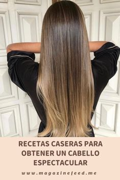 Homemade recipes for spectacular hair- If you are ready to give your hair a twist without having to spend a lot in the beauty salon, here are some grandma recipes that ARE effective: Beauty Tips For Face, Natural Beauty Tips, Natural Hair Styles, Long Hair Styles, Beauty Care, Beauty Skin, Beauty Hacks, Hair Beauty, Beauty Ideas
