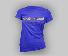 Sigma Gamma Rho t-shirt