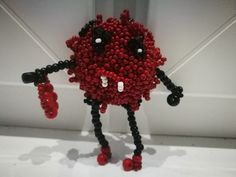 Beads monster 😊 by Manufaktura Leo Leather Working, Leo, Crochet Necklace, Jewelry Making, Beads, Handmade, Beading, Hand Made, Bead