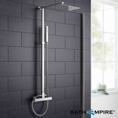 300mm Square Head - Cool to Touch Shower - Slimline Range