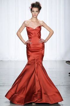 Zac Posen 2013  The color is beautiful.