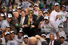 Boston Celtics' Paul Pierce shoots during Game 6 of the 2008 NBA Finals in Boston, Massachusetts, June 17, 2008.