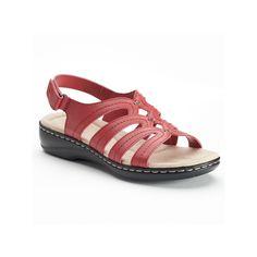 Croft & Barrow® Peggi Women's Sandals, Size: 10, Med Red