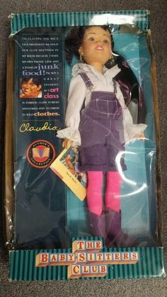 The Babysitters Club Claudia 1993 Kenner Doll Vintage The Baby Sitters Club, Babysitters, 90s Toys, Vintage Dolls, Fashion Dolls, Nostalgia, Ebay, Collection, Toys From The 90s