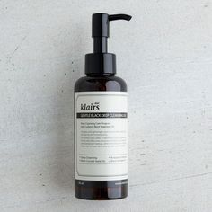 The Klairs Gentle Black Deep Cleansing Oil is mild yet effective, perfect for sensitive skin. It's hypo-allergenic formula is packed with vegetable oils that gently cleanses, moisturizes and protects.