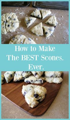 How to make the BEST scones. Ever. This is the only recipe you'll ever use again!