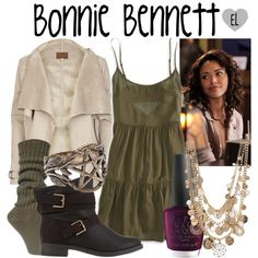 """Bonnie Bennett -- The Vampire Diaries"" by evil-laugh on Polyvore"