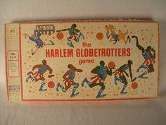 Vintage 1971 Milton Bradley Harlem Globetrotters Board Game  Complete Good Cond.