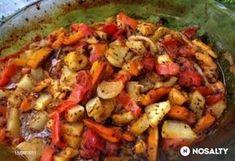 Alternatív patiszon Paella, Potato Salad, Chicken Recipes, Food And Drink, Turkey, Potatoes, Vegetables, Ethnic Recipes, Diet