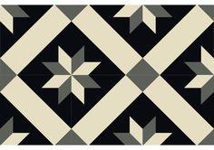 V2-288, carreau ciment géométrique